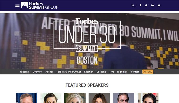 Forbes Under 30 Summit