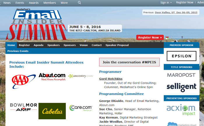 Email Insider Summit