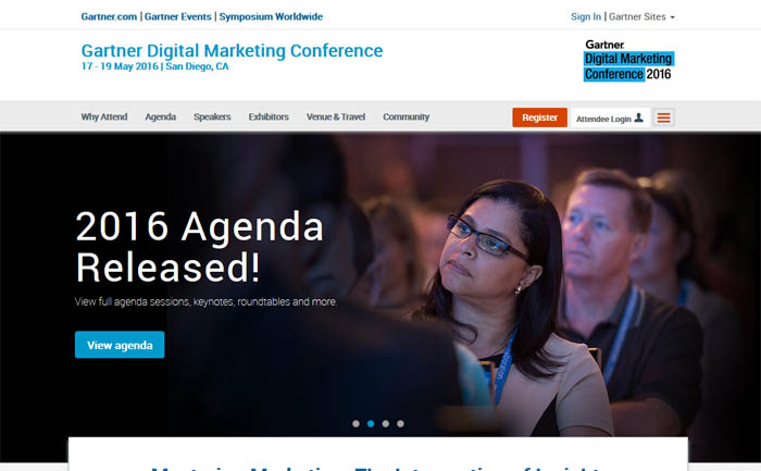 Gartner Digital Marketing Conference