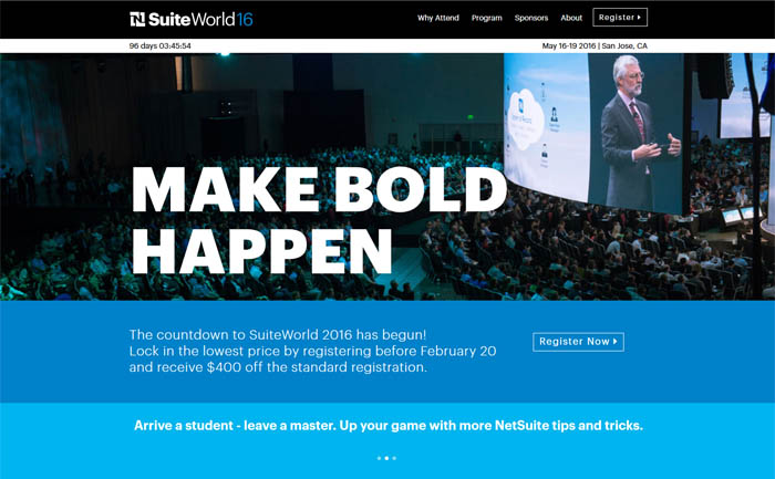 NetSuite, SuiteWorld
