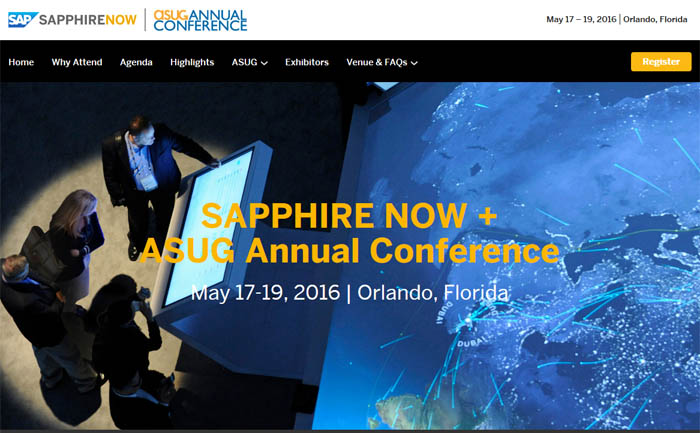 SAPPHIRE NOW + ASUG Annual Conference