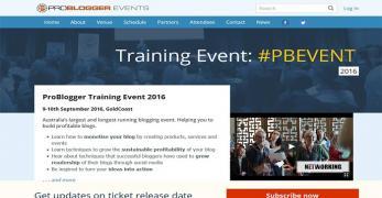 ProBlogger Training