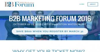 B2B Marketing Forum