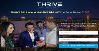 Thrive, Make Money Matter
